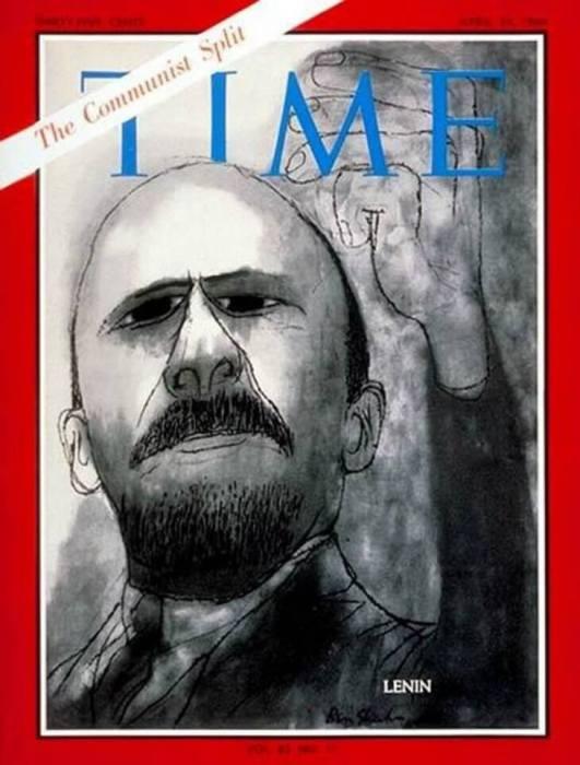 Владимир Ленин на обложке Time в 1964 году.
