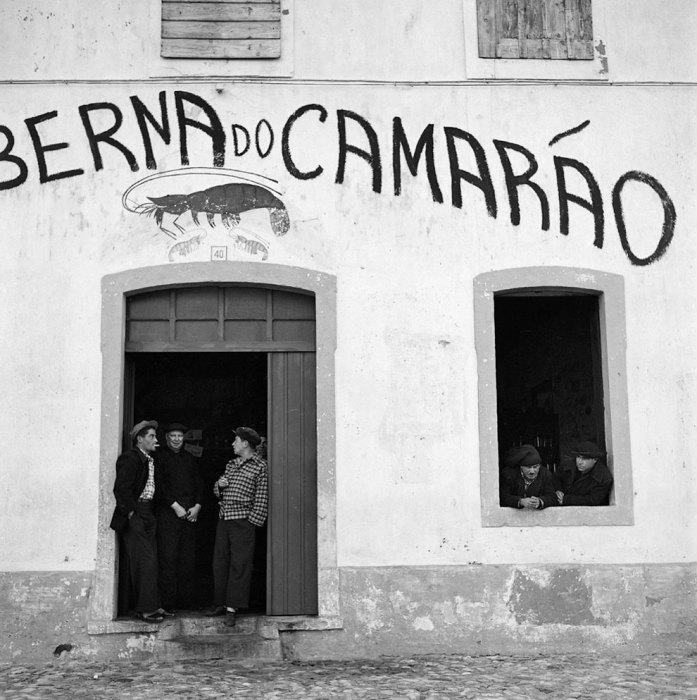 Ждем хорошей погоды. Португалия, 1956 год.