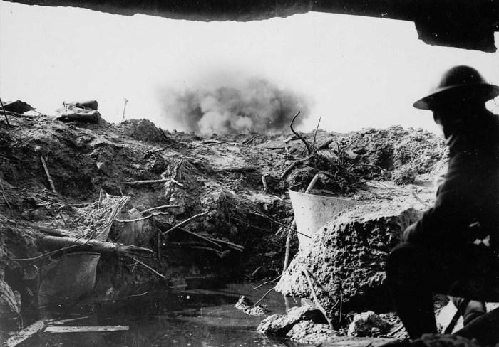 Отчаянное сопротивление союзников. Ипр, 1917 год.