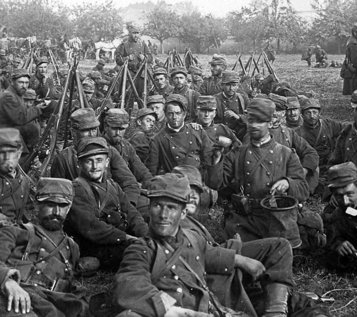 Часть двухмиллионной группировки, которая принимала участие в битве на Марне.