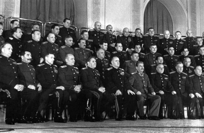 Командование. 1945 год.