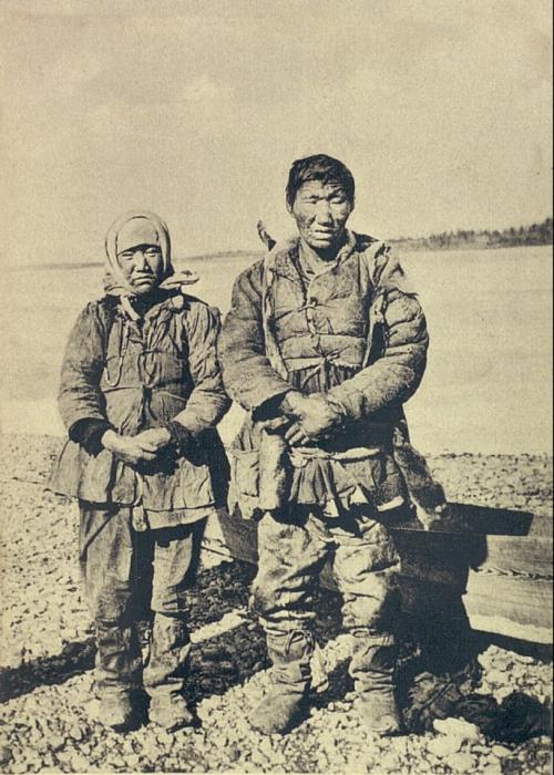 Прокаженные якуты в Вилюйске. Якутская область, начало 20 века.