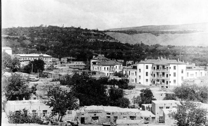 Изменение города Еревана с 1920 года по 1930 году.