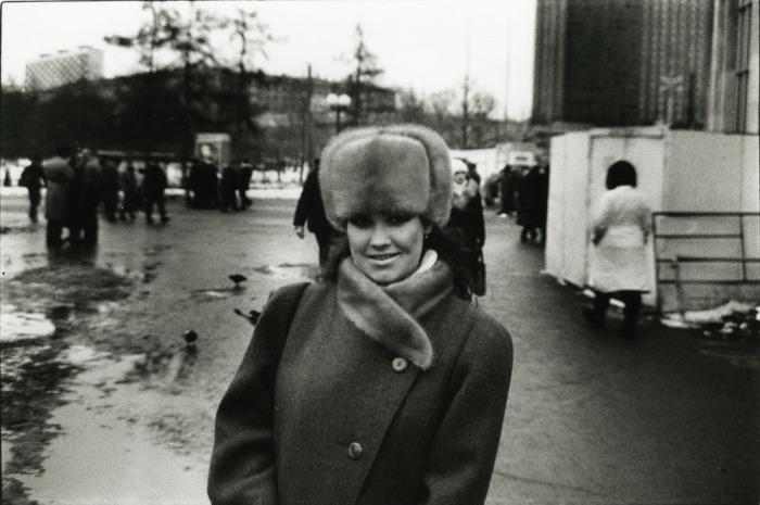 Молодая женщина. СССР, Москва, 1989 год.