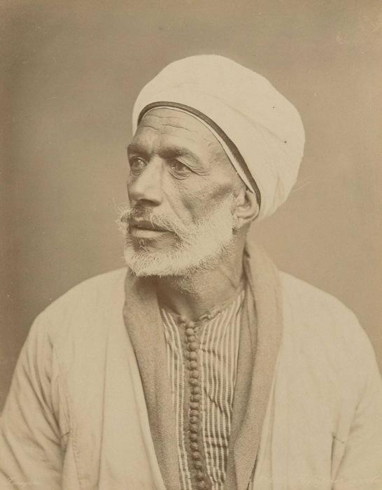 Профессор арабского языка. Каир, 1909 году.