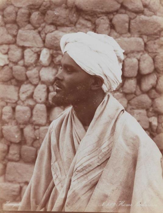 Ещё один мужчина из племени бишарин.
