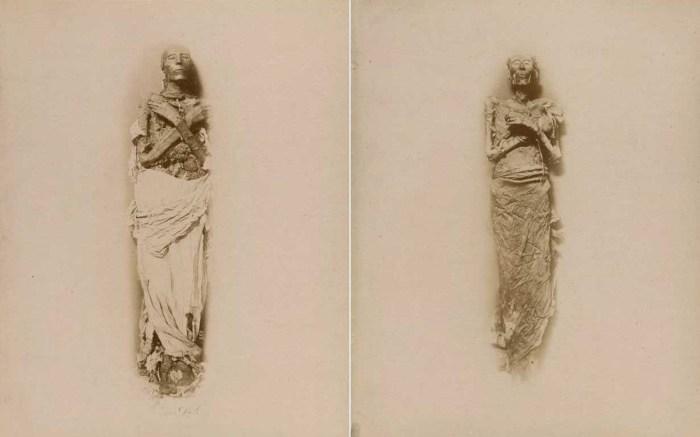 Мумии фараонов Сети I и Рамсеса II.
