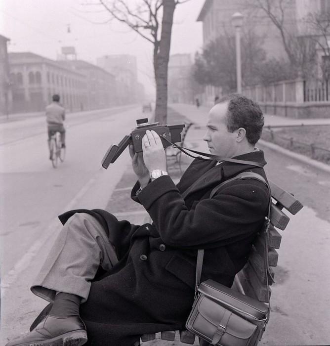 Марио Де Бьязи на фотографии Паоло Монти.