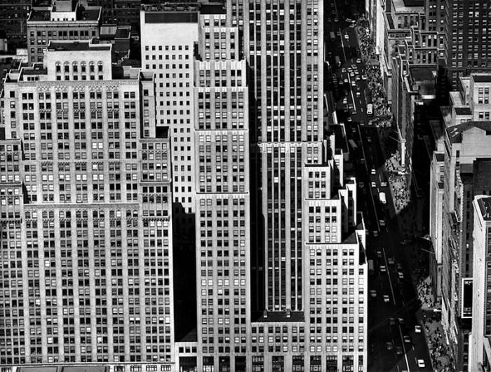 Соединённые Штаты Америки, Нью-Йорк, 1955 год.