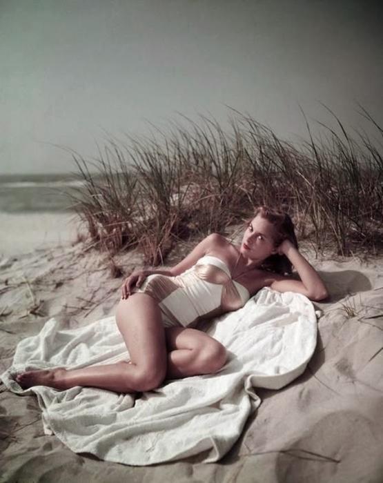 Знаменитая киноактриса 1950-х годов.
