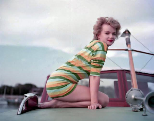 Портретная фотография американской актрисы и модели.
