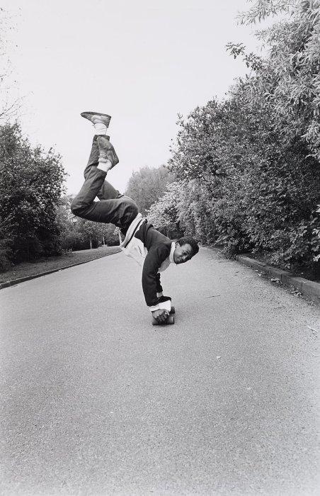 Трюк в парке Вондела. Амстердам, 1984 год.