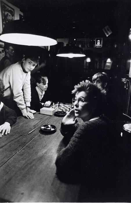 Студенческое кафе в городе Алмело. Нидерланды, 1983 год.