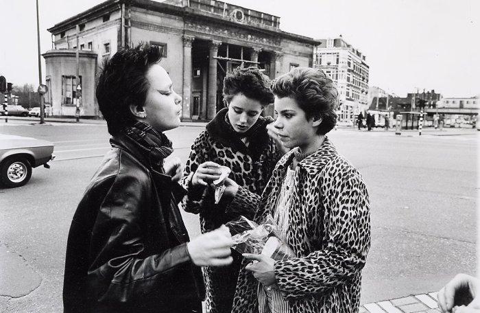 Нидерландская молодёжь. Амстердам, 1980 год.