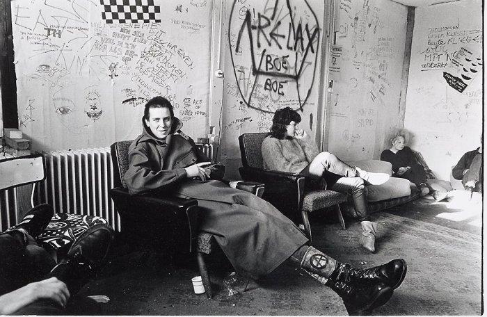 В студенческом общежитии. Амстердам, 1983 год.