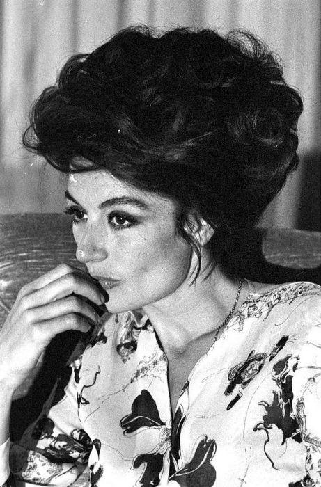 Любимая актриса Федерико Феллини в объективе Анджело Фронтони, 1970-е годы.