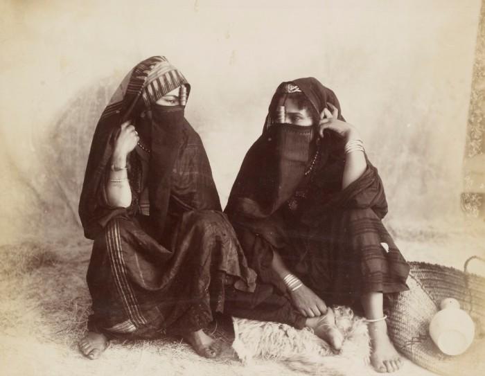 Османские женщины, 1890-е годы.
