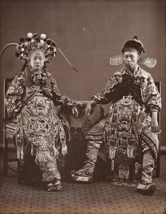 Китай, 1870 год. Автор фотографии: Лай Фонг.
