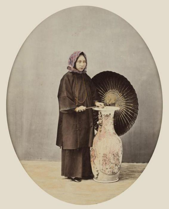 Китай, 1865 год. Автор фотографии: Уильям Сондерс.