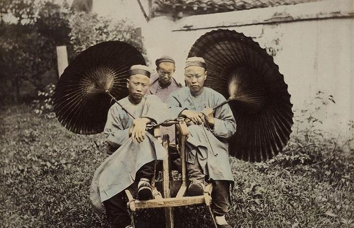 Коллекция редчайших фотографий Китая времён династии Цин.