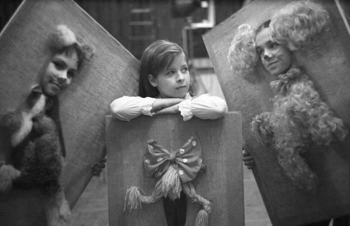 Детский спектакль, 2001 год.