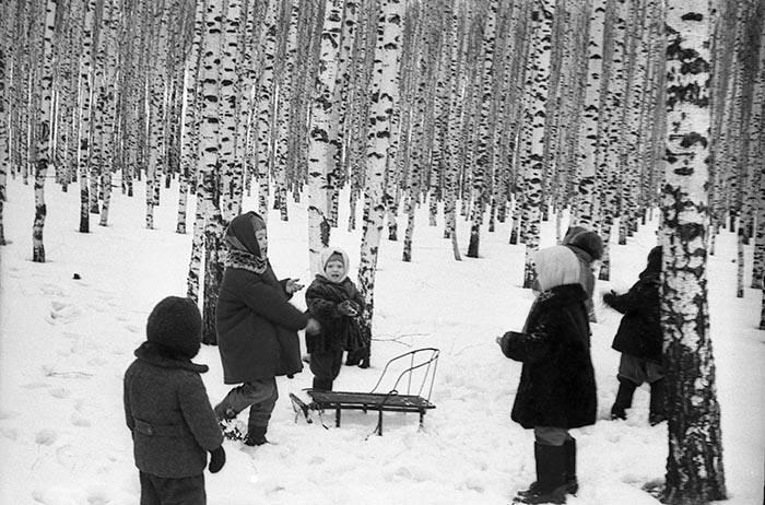 Любимая зимняя игра родом из СССР.