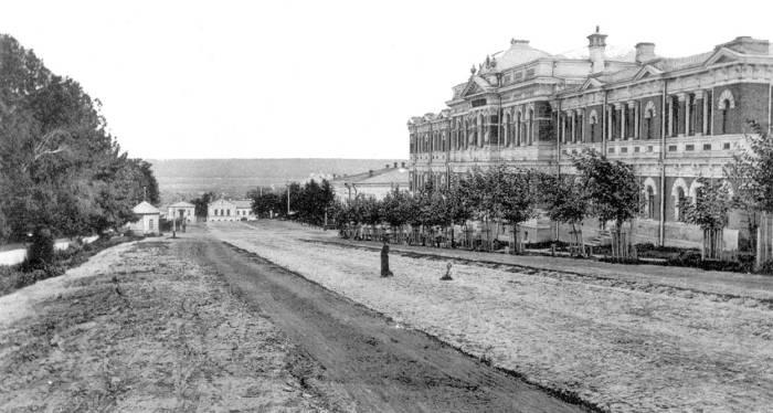 Художественное училище. Россия, Садовая улица, 1980 год.