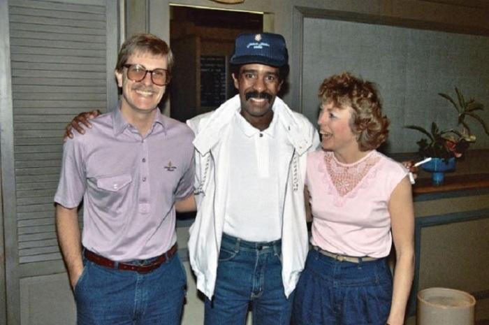 Памятная фотография, сделанная в 1986 году.