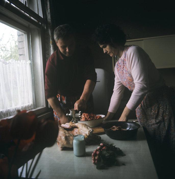 Семейная обстановка. Литва, 1968 год.