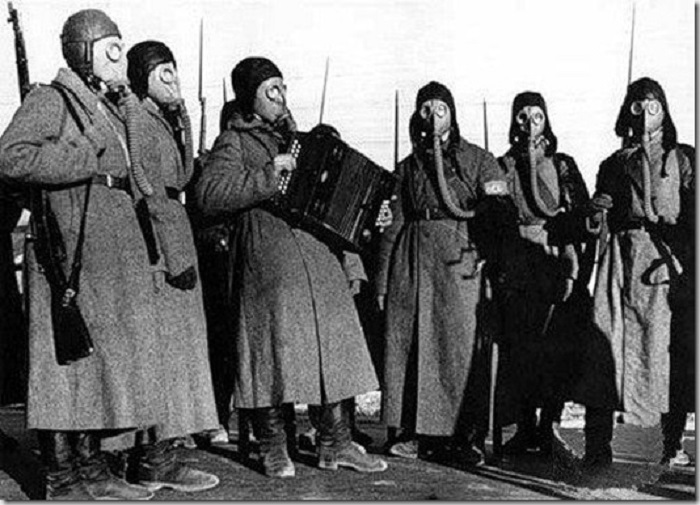 Военные учения в 1939 году.