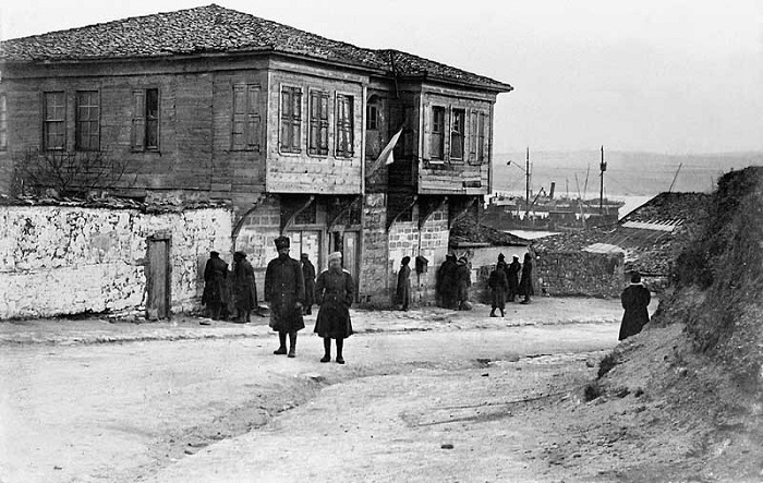 Штаб 1-го армейского корпуса. Галлиполи, 1920 год.