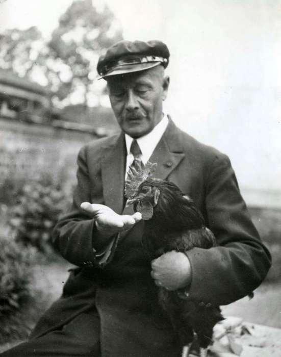 Павел Александрович Офросимов - бывший генерал-майор, герой Первой мировой войны, разводящий в эмиграции кур.