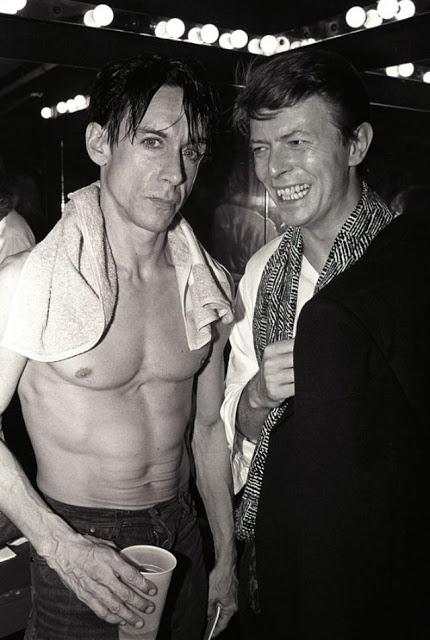 Игги Поп и Дэвид Боуи.