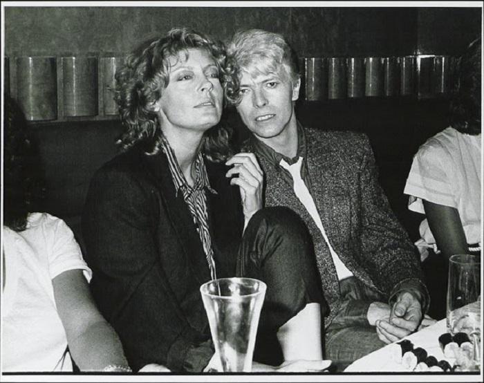 Самая красивая звездная пара в 1983 году.