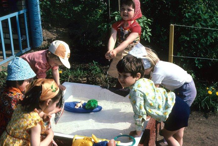 Детский сад в западном округе Москвы.