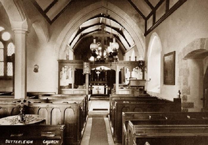 Колокольня церкви Святого Филиппа в Девоне, 1910-й год.