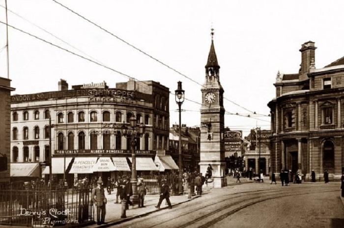 Часовня в городке Плимут. Англия, Девон, 1910-й год.