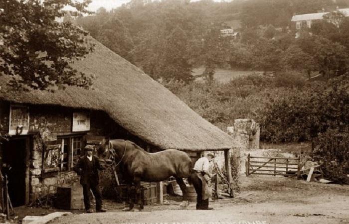 Фотографии, сделанные в графстве Девон в начале XX века.