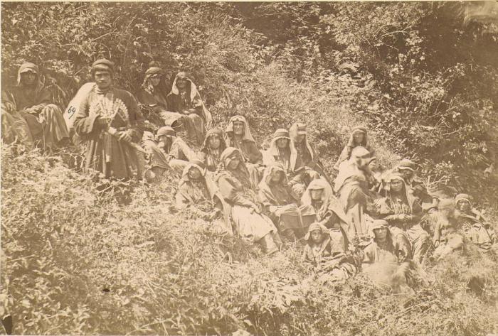Горные жители Кавказа.