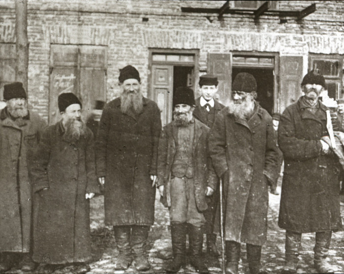 Представители Севастопольской иудейской религиозной общины.