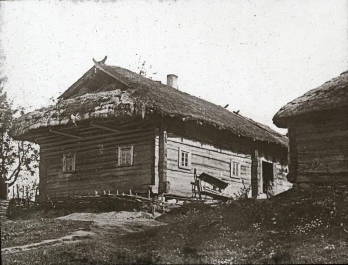 Образец крестьянского дома XIX века.