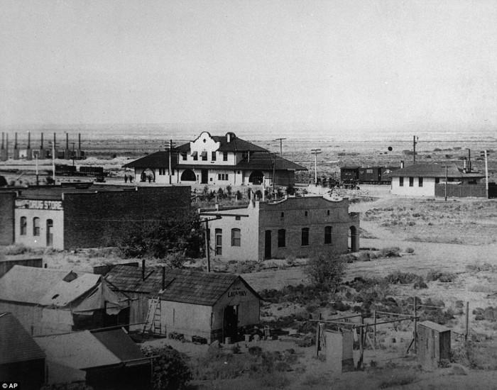 Лас-Вегас в далёком 1906 году.