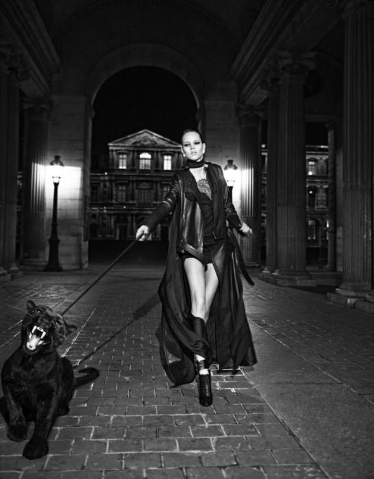 «Rebel girl» - топ-модель датского происхождения.