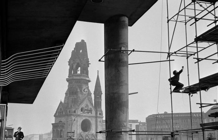 Памятник архитектуры. Германия, Западный Берлин, 1959 год.