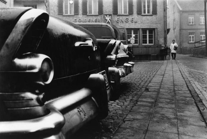Постоялый двор в городе Баумхольдер. Германия, 1959 год.