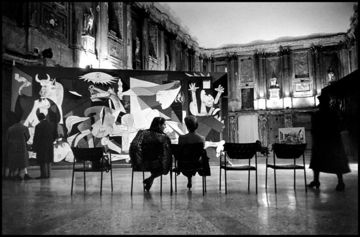 Выставка величайших работ Пикассо. Италия, Милан, 1953 год.