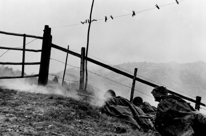 Масштабные военные учения максимально приближенные к боевой обстановке. Швейцария, 1954 год.