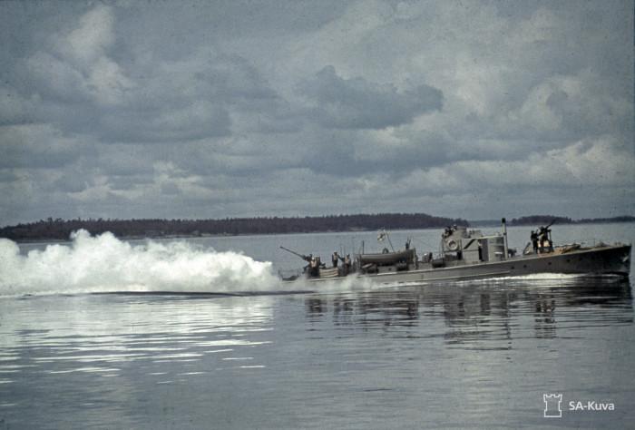 Подводная лодка. Город Ханко, 1943 год.
