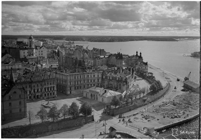 Выборг в 1942 году.