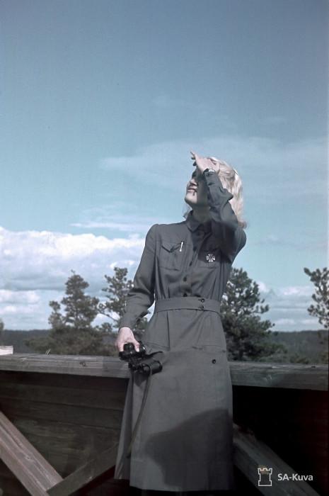 Воздушное наблюдение. Лахденпохья, июль 1942-го.